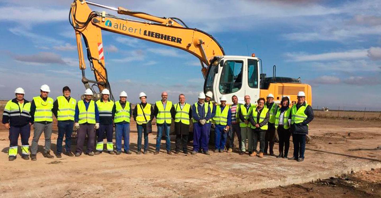 El Gobierno de Castilla-La Mancha finaliza la retirada completa de los neumáticos en el depósito de Argamasilla de Alba (Ciudad Real)