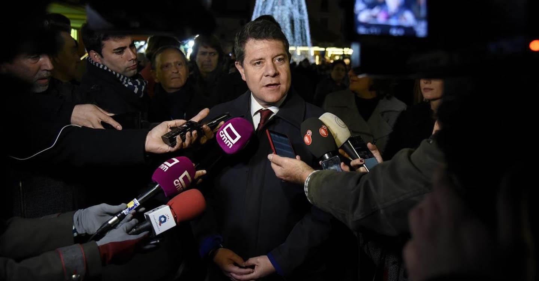 """El presidente García-Page espera que las autoridades políticas catalanas """"estén a la altura"""" de sus cargos y del pueblo al que representan"""