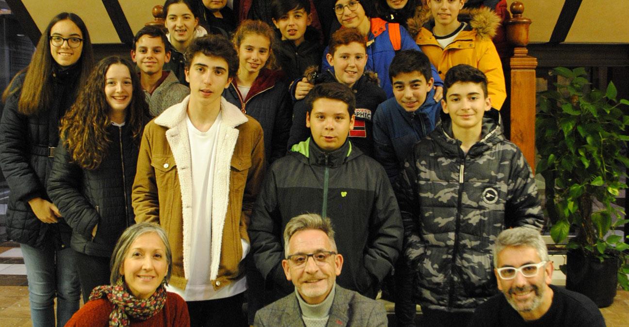 Martín recibe a más de 40 alumnos y profesores ERASMUS de visita en Valdepeñas