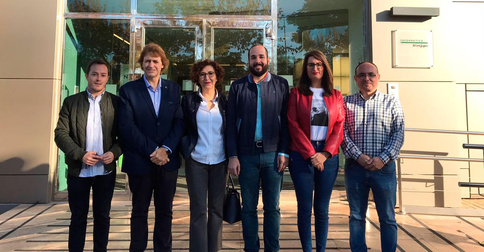El PSOE propone mejorar la conexión de las empresas y los pueblos de la provincia de Ciudad Real de la mano de Pedro Sánchez