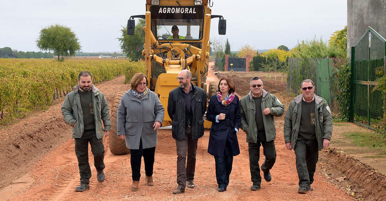 Junta y Diputación invierten más de 86.000 euros en la mejora de caminos rurales en Argamasilla de Alba