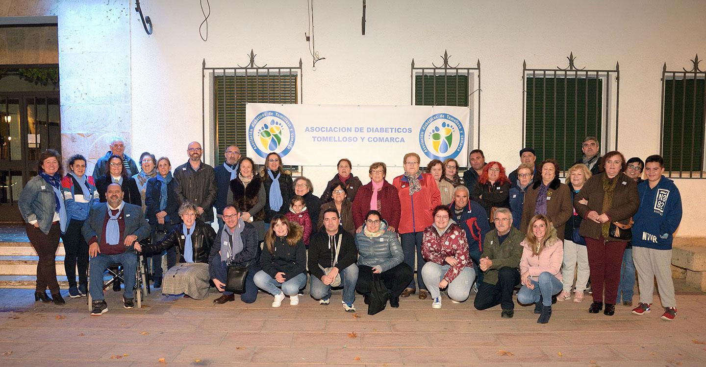 Argamasilla de Alba conmemora el Día Mundial de la Diabetes con una concentración
