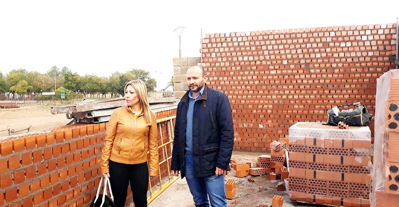 Avanzan a buen ritmo las obras de Construcción de la nueva Estación de Tratamiento de Agua Potable (E.T.A.P.) de Villarta de San Juan.