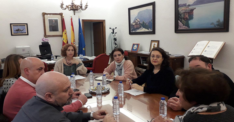 Mar Álvarez coordina el primer encuentro con los responsables en Ciudad Real contra la Violencia sobre la Mujer