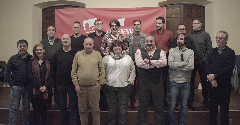 Izquierda Unida presenta sus candidaturas municipales en la provincia de Ciudad Real llamando a despertar la ilusión en la clase trabajadora