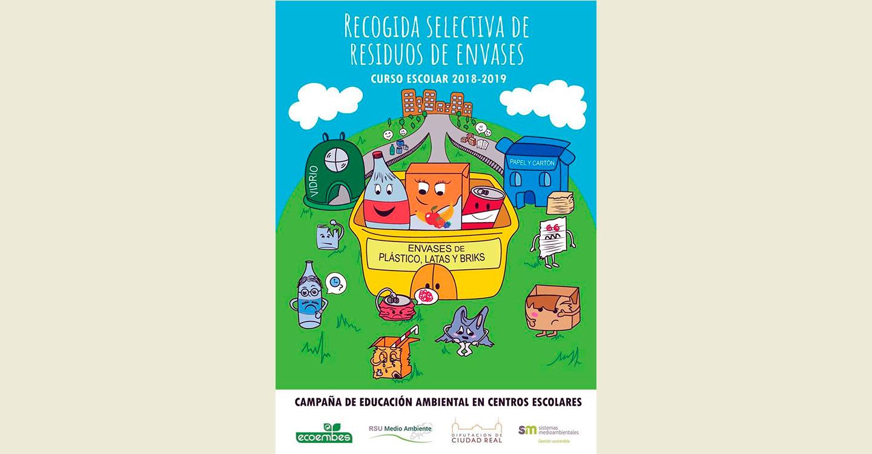 """El Consorcio RSU de Ciudad Real comienza su campaña de educación ambiental """"Recogida Selectiva de Envases y Residuos"""" en 136 centros escolares"""