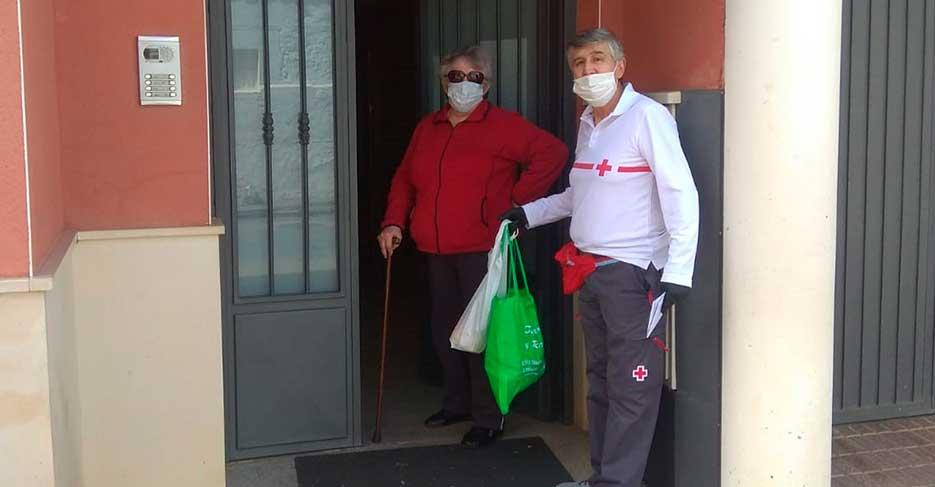 A 682 personas alcanza ya el Plan Cruz Roja RESPONDE frente al Covid-19 en Almodóvar del Campo y su entorno