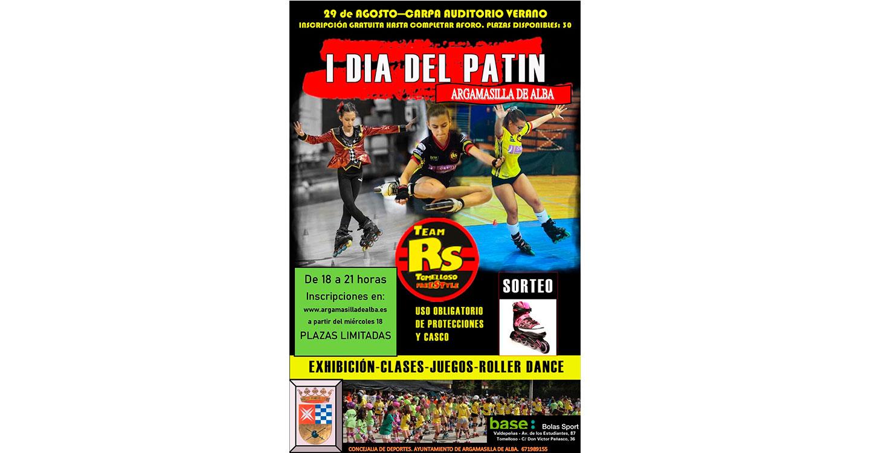 La Concejalía de Deportes organiza para el 29 de agosto el I Día del Patín