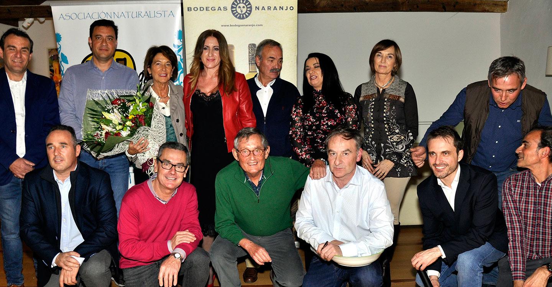 """Miguel Delibes de Castro recibió el premio """"Tablas de Calatrava 2018"""" en Carrión de Calatrava"""