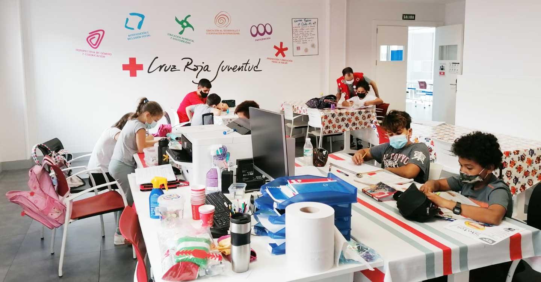 180 niños y niñas de la provincia participan en el proyecto de Promoción del éxito escolar de Cruz Roja