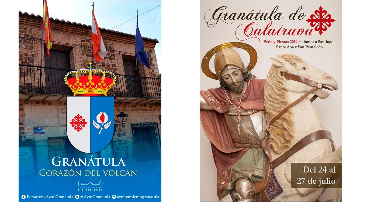 Granátula de Calatrava celebrará sus fiestas de verano en honor a Santiago, Santa Ana y San Pantaleón entre los días 23 y 28 de julio