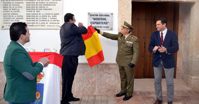 """Granátula de Calatrava inaugura el Centro Cultural """"General Espartero"""", su nuevo recurso de atracción turística"""