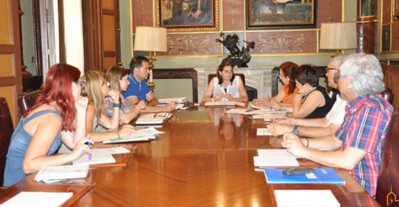 El área de Personal de la Diputación de Ciudad Real ultima un proyecto de contratación de personas con discapacidad a iniciativa de Caballero