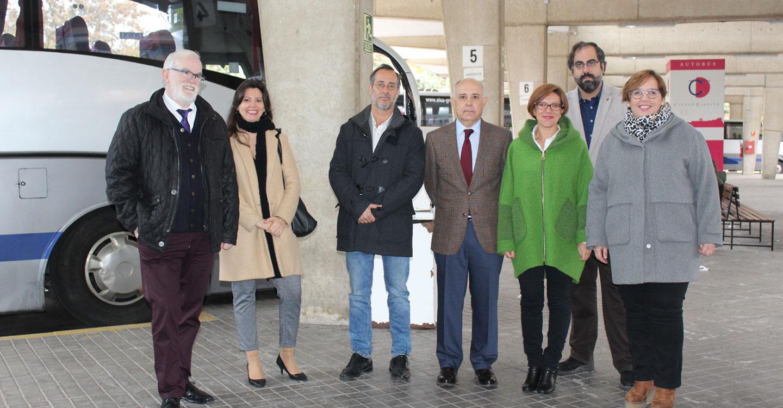 El alcalde de Poblete, muy satisfecho con la respuesta de la Consejería de Fomento a las necesidades de transporte de la localidad