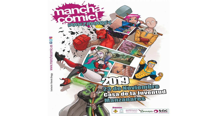 'Manchacómic' vuelve a Manzanares con zona gamer, callejón del artista y hasta un scape room