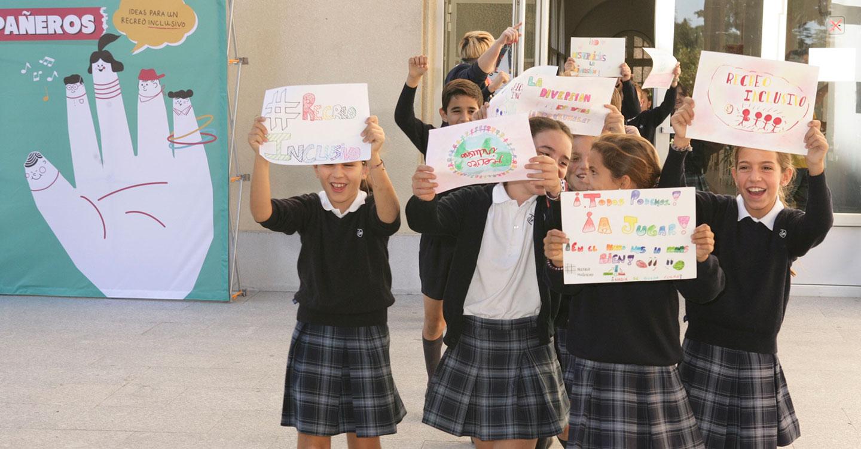 """Más de 3.400 estudiantes y 47 """"profes"""" de Ciudad Real impulsan ideas para fomentar un recreo inclusivo"""