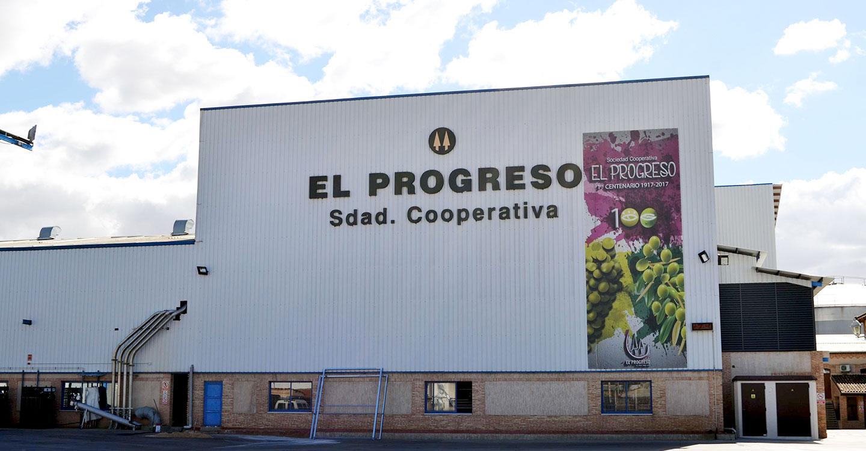 El Progreso cosecha más de 100 millones de kilos y Vidasol 80 millones más en esta vendimia