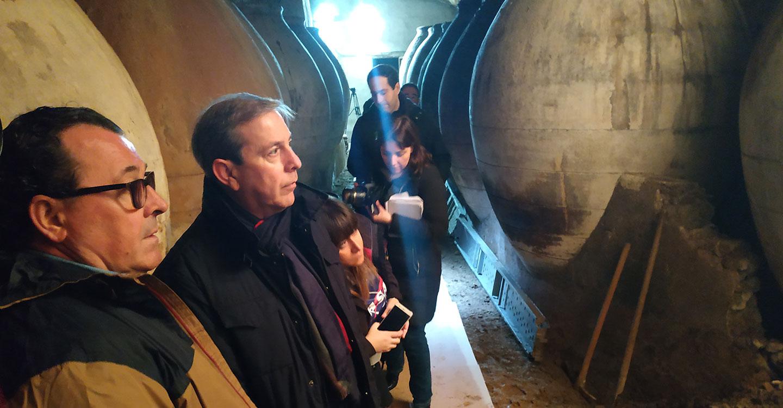 Valdepeñas recupera otra antigua cueva, la del edificio de la Escuela Municipal de Música y Danza