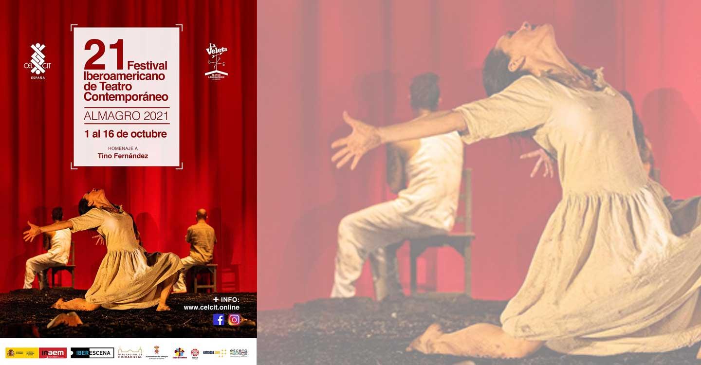 La presencialidad vuelve al 21º Festival Iberoamericano de Teatro Contemporáneo de Almagro, que ofrece 15 representaciones del 1 al 16 de octubre