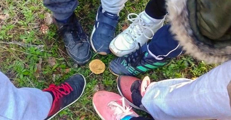 El Ayuntamiento de Mestanza celebró con escolares de la localidad el tradicional 'Día del Hornazo'