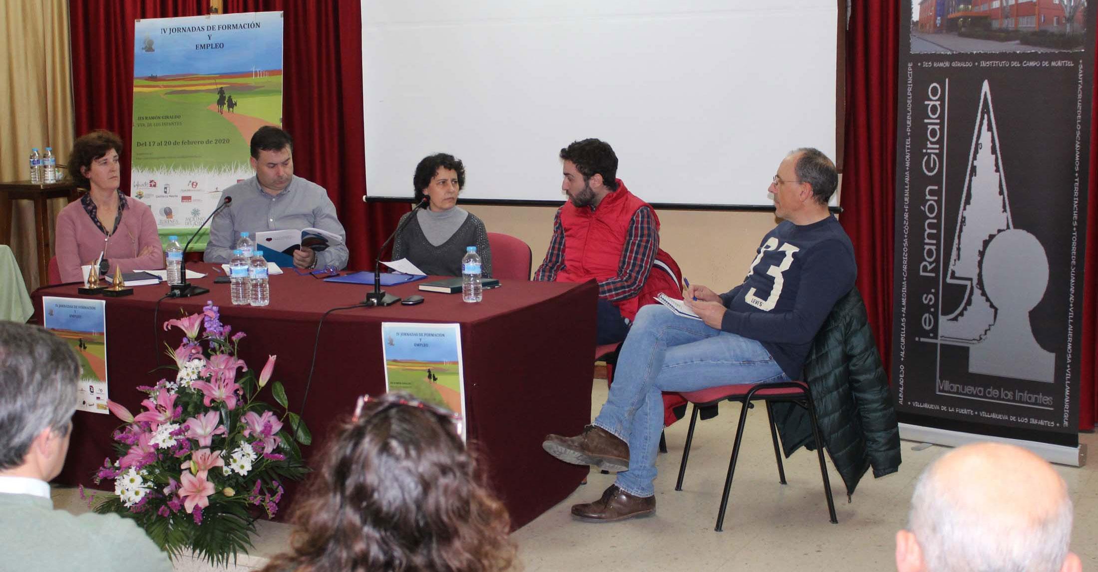 Se clausuran las IV Jornadas de Formación y Empleo en el IES Ramón Giraldo