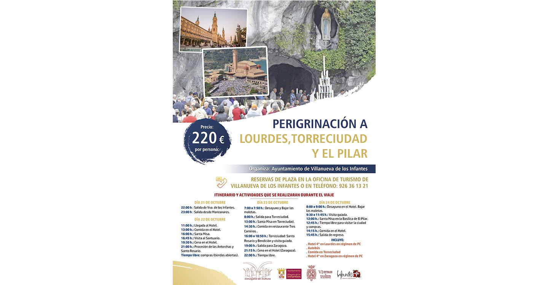 El Ayuntamiento organiza una peregrinación a Lourdes, Torreciudad y Zaragoza