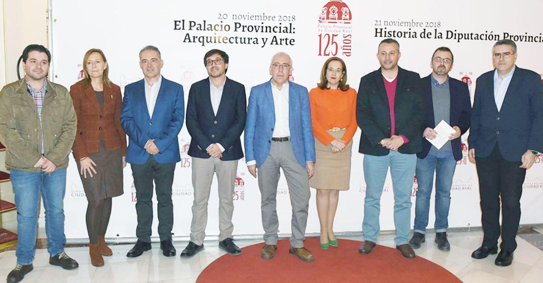 Profesores de la UCLM analizan la Historia de la Diputación en la segunda jornada del ciclo de conferencias del 125 aniversario del Palacio Provincial