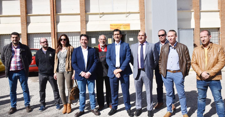 La Diputación ha invertido en Pozuelo de Calatrava 1,6 millones de euros en esta legislatura