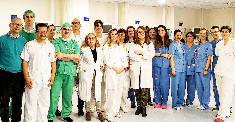 El Hospital Mancha Centro implanta un protocolo para el contacto inmediato piel con piel para cesáreas de bajo riesgo