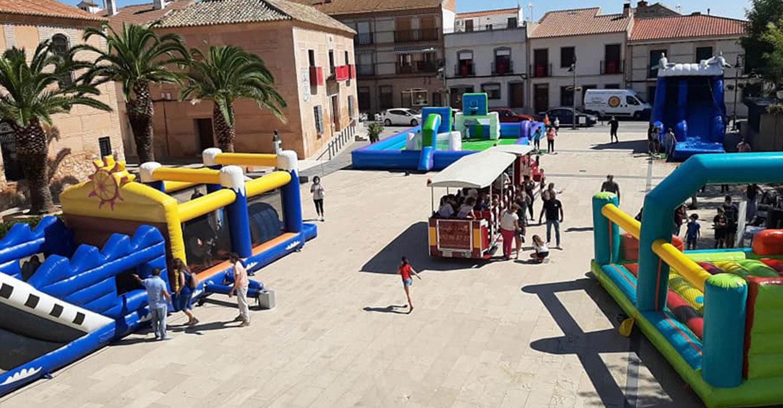 Buena participación en las fiestas de Torralba de Calatrava en honor al Cristo del Consuelo