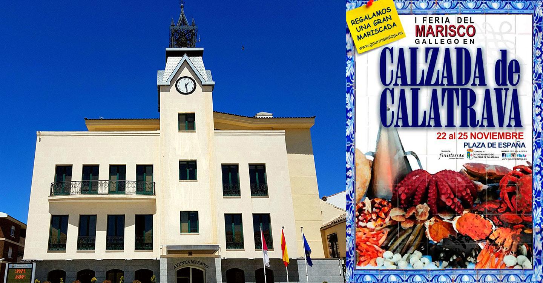 1ª Feria del Marisco Gallego en Calzada de Calatrava, del 22 al 25 de noviembre