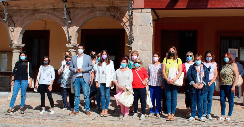 Cuatro empresas de La Solana se suman a la iniciativa 'Empresas y entidades de Castilla-La Mancha por una sociedad libre de violencia de género'