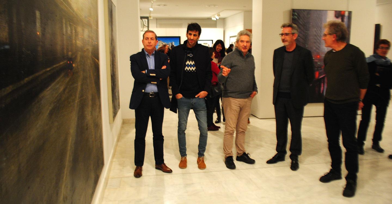 El alcalde inaugura la muestra '20 años después', antesala del 80 aniversario de la Exposición Internacional de Valdepeñas