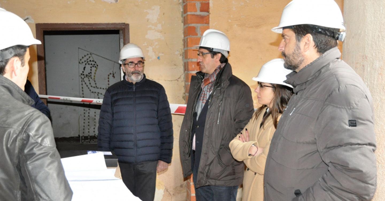 Diputación y Ayuntamiento afrontan la recuperación de la Casa de Rueda de Infantes como referencia turística y patrimonial