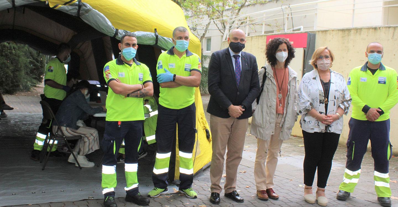 Castilla-La Mancha inicia hoy la relajación de medidas tras el periodo de pandemia y continúa con la vacunación en unidades móviles