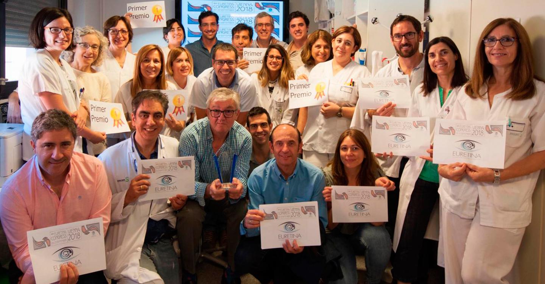 El Hospital Mancha Centro logra en Austria el primer premio en uno de los congresos oftalmológicos más importantes de Europa, 'EURETINA 2018'