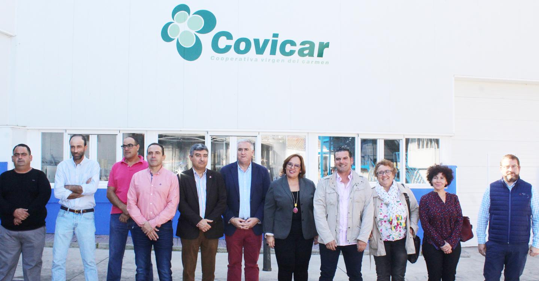 El Gobierno de García-Page invierte en Almodóvar del Campo 537.230 euros en la mejora de colegios y en la ampliación de la Cooperativa Virgen del Carmen