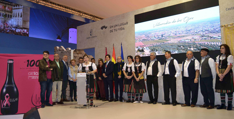 Villarrubia de los Ojos muestra al mundo en FITUR su fuerte raíz enoturista con la Fiesta de la Vendimia, el sentido de nuestra tierra