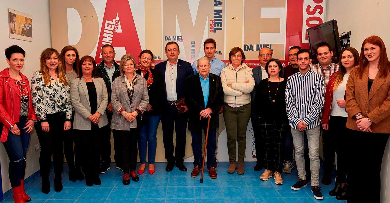 EL PSOE de Daimiel presenta una candidatura preparada, cualificada y que representa a la sociedad daimieleña