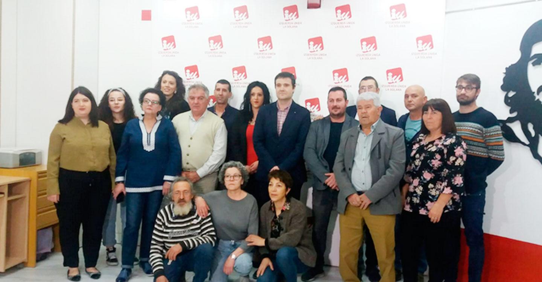 Izquierda Unida presentó el pasado fin de semana su candidatura a las elecciones municipales en La Solana