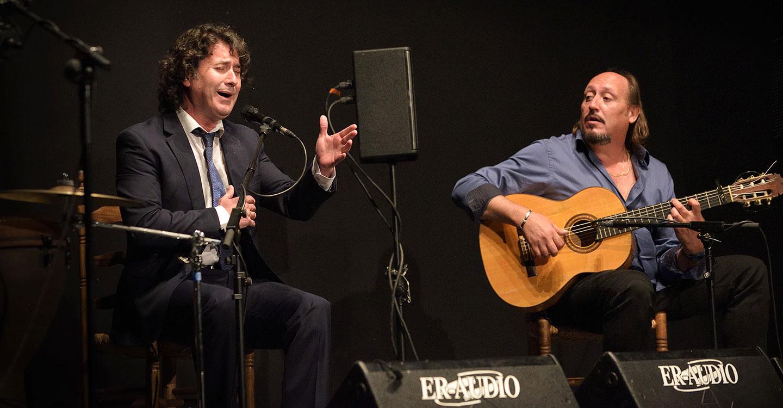 """Julián Estrada y El Troya en el VII Festival Flamenco """"Primavera del Cante"""" de Argamasilla de Alba"""