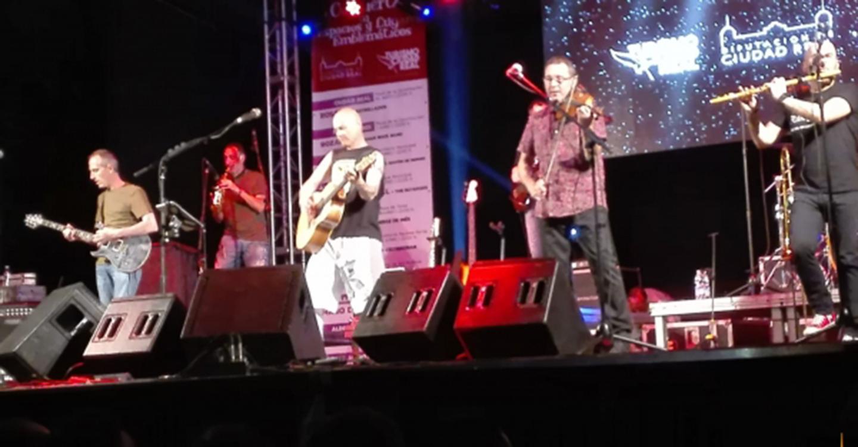 """""""Celtas Cortos"""" aprovecha el concierto que ha organizado la Diputación en El Robledo para presentar """"Silencio"""", su último single"""