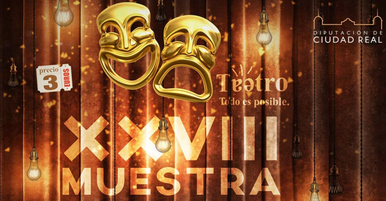 Diputación selecciona los monólogos y grupos de teatro de la XXVIII Muestra Provincial de Teatro