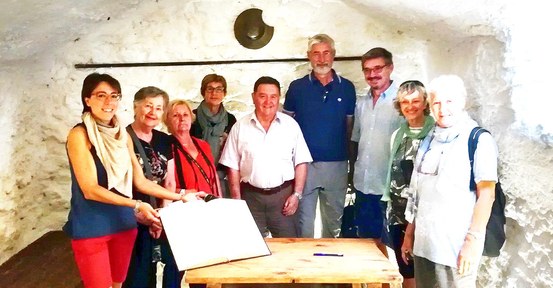 El nuevo presidente de la Asociación de Cervantistas visita Argamasilla de Alba