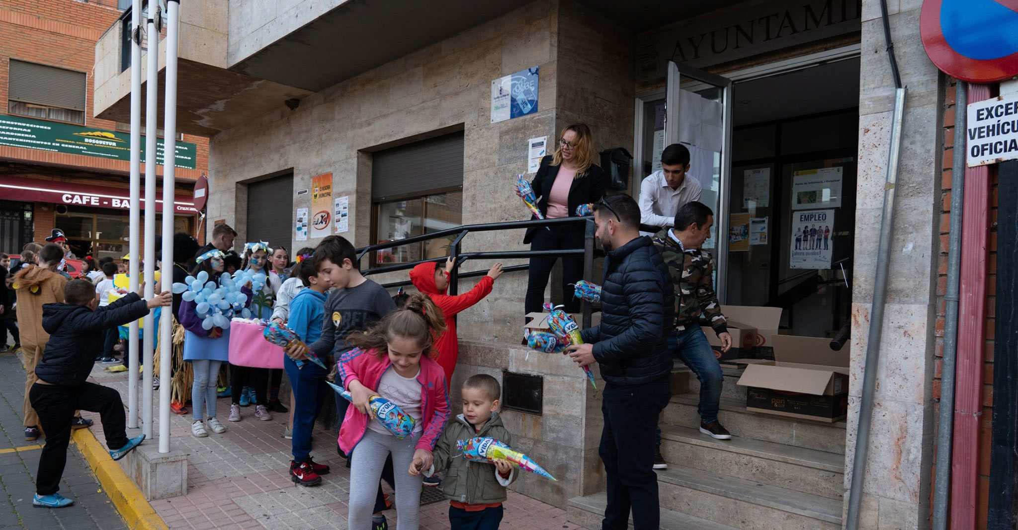 Cerca de 200 niños participaron en el concurso infantil de Carnaval