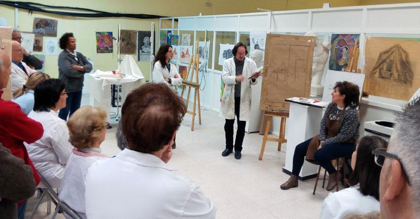 El Taller Municipal de Artes Plásticas 'Daniel de Campos' innova y se imparte en línea