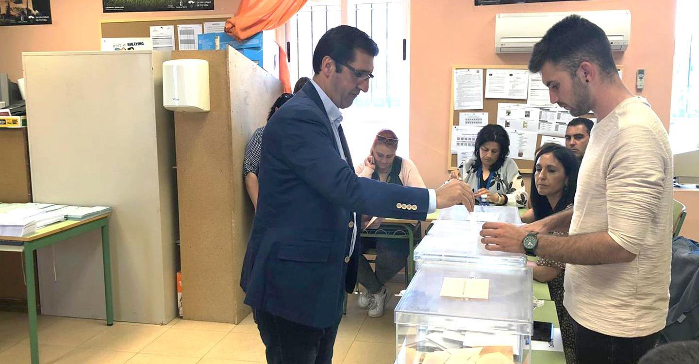 """Caballero anima a los ciudadrealeños a votar pensando en lo que más importa """"los intereses de nuestro pueblo, de Castilla-La Mancha y de Europa"""""""