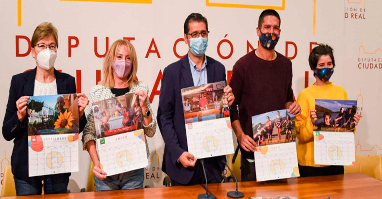 """La Diputación colabora una edición más con AFANION con la impresión de su calendario bajo el lema """"El mundo que queremos heredar"""""""