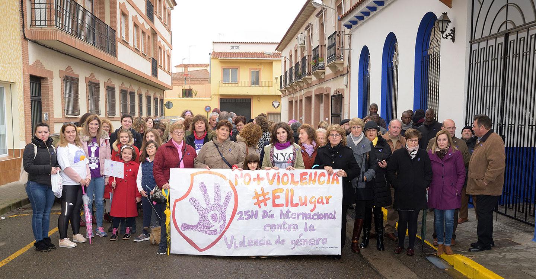 Argamasilla de Alba se moviliza contra la violencia hacia las mujeres