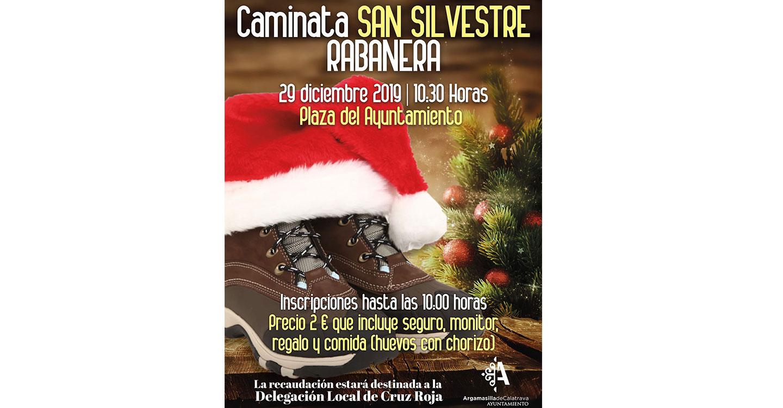 Caminata 'San Silvestre Rabanera' para disfrutar en familia del último domingo de 2019